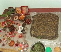 navratri kalash sthapan pooja method