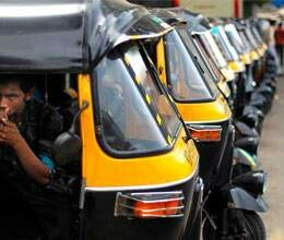 auto drivers on strike in amritsar today