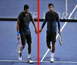 indian tennis on verge of brink as bhupati plays against paes