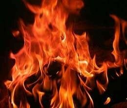 wife immolates along with her husband