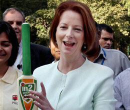 mp questions pm gillard over award to sachin tendulkar
