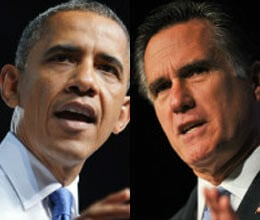 obama leads in fiery form in second debate