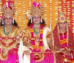 ramlila will begin with lord ganesha worship