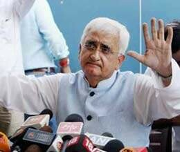 Khurshid threats, it will be difficult to return Kejriwal if came Farrukhabad