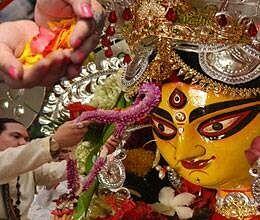 goddess durga kali saraswati likes this flower