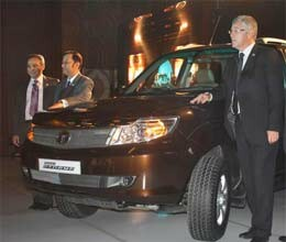 tata launches suv safari storme