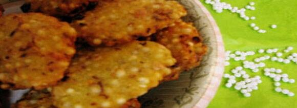 aaloo sabudana tikki recipe