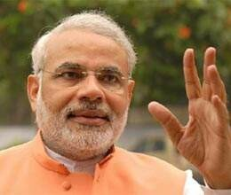 narendra modi files nominations from Maninagar constituency