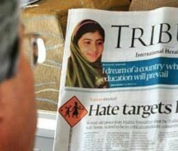 taliban threat worries pakistan media