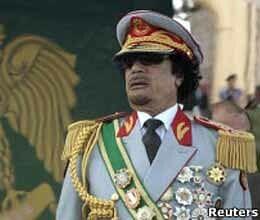 where is muammar gddafi  family?