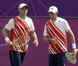 Bryan brothers record eighth time at top