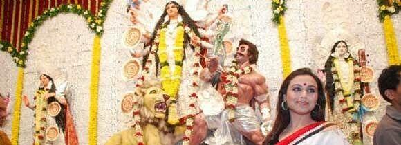 bollywoods bengali actresses celebrate durga puja