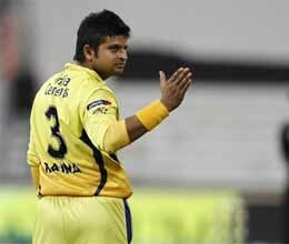 ms dhoni plays under suresh raina, bowls two expensive overs