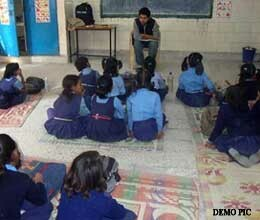 school teacher of bareilly interact less with students
