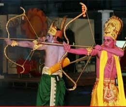 different types of arrows will be used in ramlila