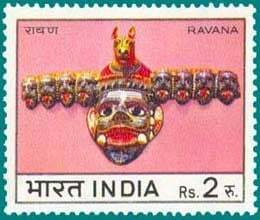 stamp of ravana has been issued