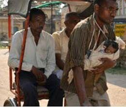 Damini hurl his rickshaw driver father's fate