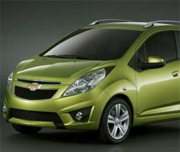 good looking new chevrolet spark launched