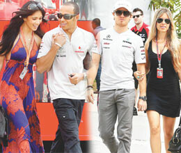 special arrangements for f1 drivers girlfriends