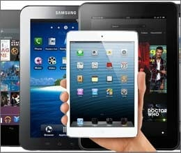 ipad mini vs nexus 7 vs galaxy tab 2 vs kindle fire hd