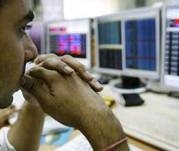 market closes on lower note