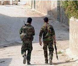 syrian army will follow war seige