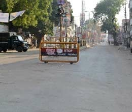 six hours relaxation in curfew in faizabad