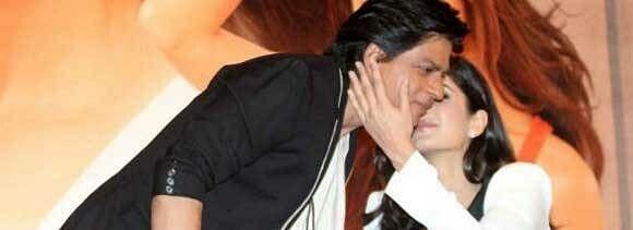 katrina kaif kiss shahrukh khan