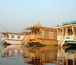 dal lake houseboats will be in row