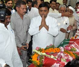 Cabinet ministers Kameshwar Upadhyaya funeral