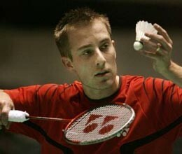 Peter Gade Said goodbye to Badminton