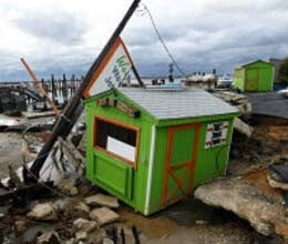 after sandy us works to resume daily life
