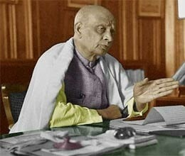 without sardar patel vision of india was incomplete