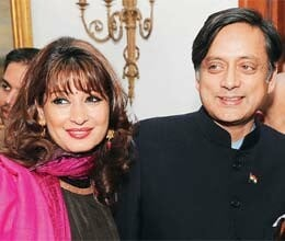 After Modi's Rs 50 cr barb, Tharoor says his wife