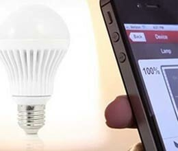 smart bulb remote control by mobile phone