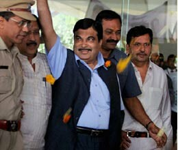 Gadkari said, I am an honest person, will not resign