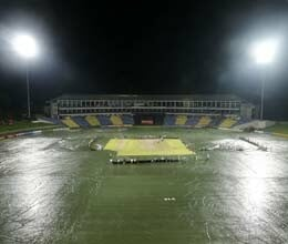 rain washes out first odi between sri lanka and new zealand at pallekele