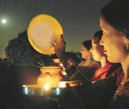 women do not celebrate karva chauth for husbands safety