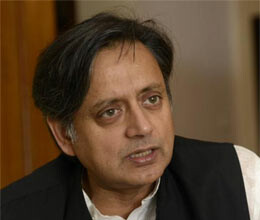 shashi tharoor took ministry in his way