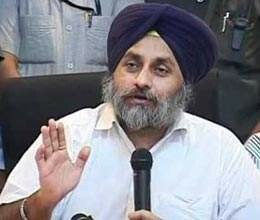 sukhbir badal attacks sonia gandhi on inflation
