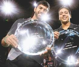 bhupathi bopanna win paris masters