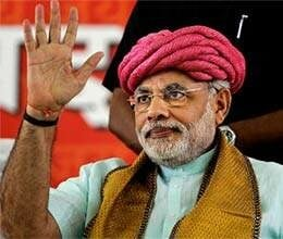 narendra modi is ready for delhi, identified successor