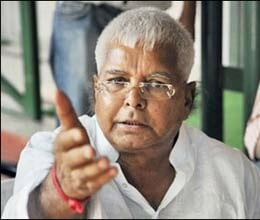 lalu prasad demands Gadkari iq test