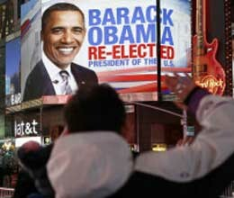 india congratulates us president barack obama on his re election