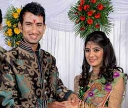 cheteshwar pujara gets engaged to rajkot based pooja pabari