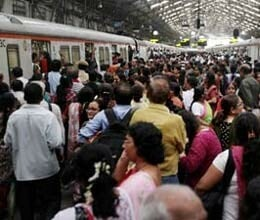 mumbai central harbour railway services badly affected