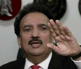 india to host pakistan interior minister rehman malik