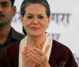 sonia gandhi happy on hp wins but silent on gujarat