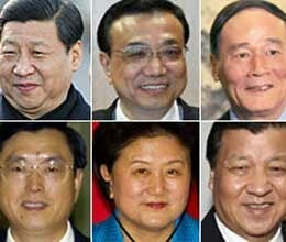 these are contenders for power in china