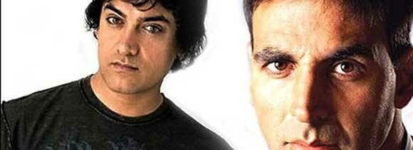 now aamir and akshay face to face
